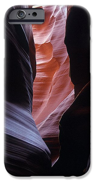 Antelope Canyon 5 iPhone Case by Jeff Brunton