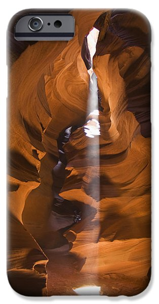 Antelope Canyon A Narrow Canyon Carved iPhone Case by Brian Guzzetti