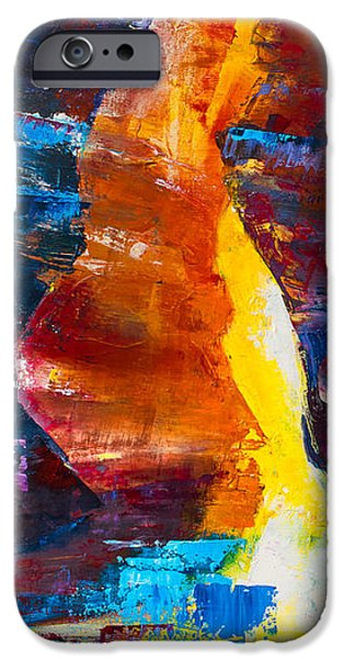 Lake Powell iPhone Cases - Antelope Canyon Light iPhone Case by Elise Palmigiani