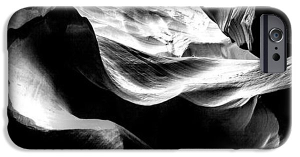Page iPhone Cases - Antelope Canyon Rock Wave 2 iPhone Case by Az Jackson