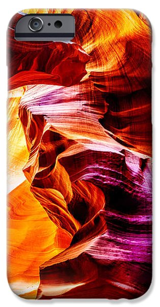 Locations iPhone Cases - Antelope Canyon Tour iPhone Case by Az Jackson