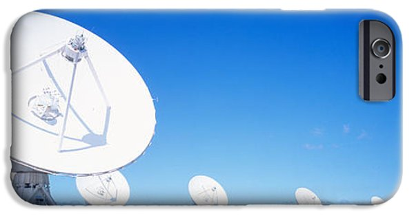 Disk iPhone Cases - Antenna Configuration Nm Usa iPhone Case by Panoramic Images