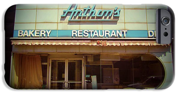 Sign Digital Art iPhone Cases - Anthons Bakery Pittsburgh iPhone Case by Jim Zahniser