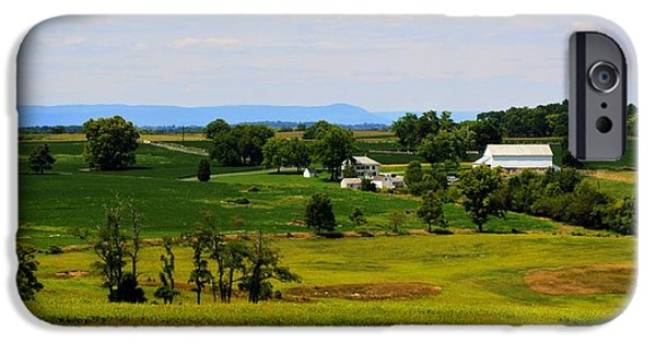 Recently Sold -  - Historic Site iPhone Cases - Antietam Battlefield and Mumma Farm iPhone Case by Patti Whitten