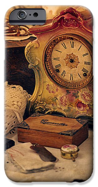 Antique Dresser  iPhone Case by Maria Angelica Maira