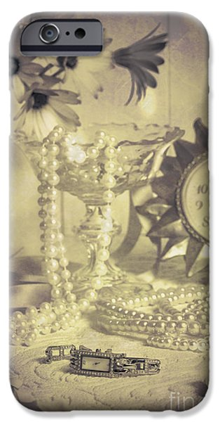 Antique Dressing Table iPhone Case by Amanda And Christopher Elwell