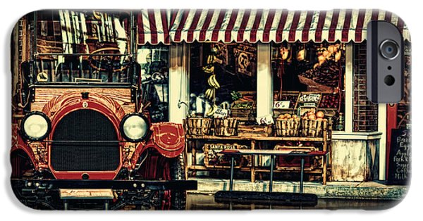 Business Digital iPhone Cases - Antique Grocery Store  iPhone Case by Maria Angelica Maira