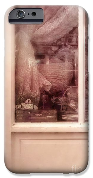 Toy Store Photographs iPhone Cases - Antique Shopping iPhone Case by Margie Hurwich