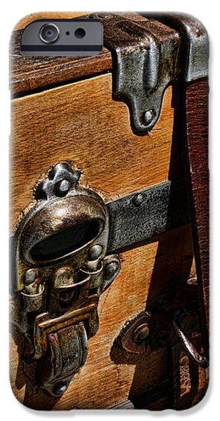 Antique Steamer Truck Detail iPhone Case by Paul Ward
