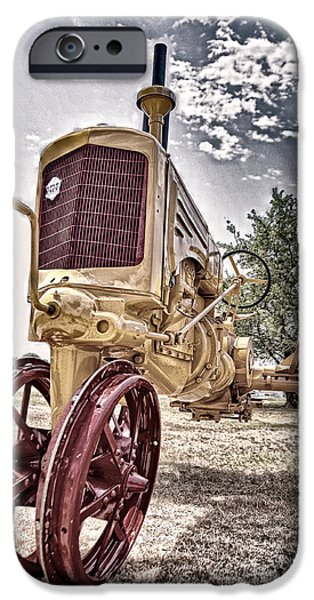 Antique Tractor iPhone Case by Tamyra Ayles