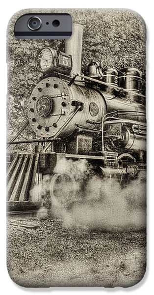 Antique Train iPhone Case by Bill  Wakeley