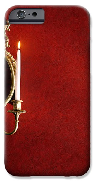 Antique Wall Sconce iPhone Case by Olivier Le Queinec