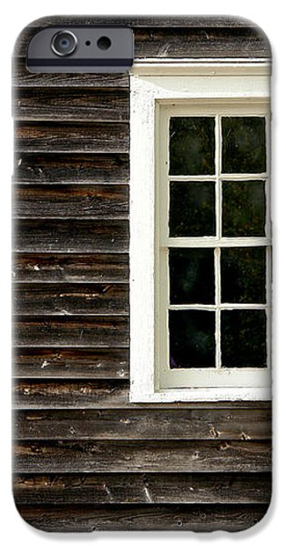 Antique Window iPhone Case by Olivier Le Queinec
