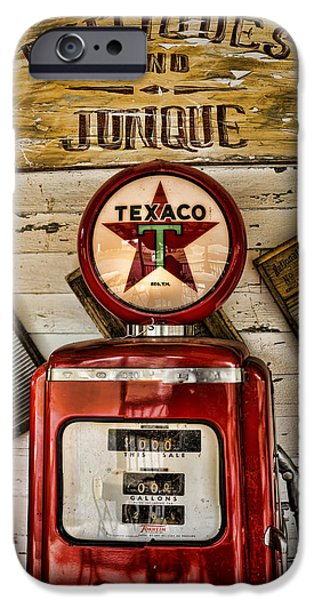 Antiques and Junque iPhone Case by Heather Applegate