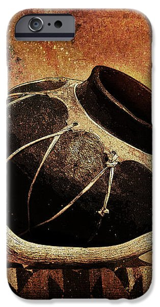Antler and Olla iPhone Case by Karen Slagle