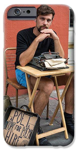 Antoine iPhone Case by Steve Harrington