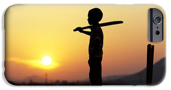 Cricket iPhone Cases - Any One for Cricket iPhone Case by Tim Gainey