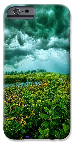 Summer Storm iPhone Cases - Any Port iPhone Case by Phil Koch