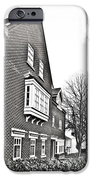 Apartment iPhone Cases - Apartment building iPhone Case by Tom Gowanlock