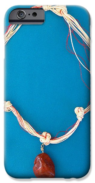 Aphrodite Genetyllis Necklace iPhone Case by Augusta Stylianou