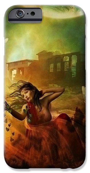 Greek Goddesses iPhone Cases - Aphrodite iPhone Case by Karen K