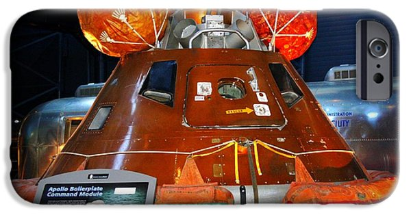 Smithsonian iPhone Cases - Apollo Boilerplate Command Module iPhone Case by Patti Whitten