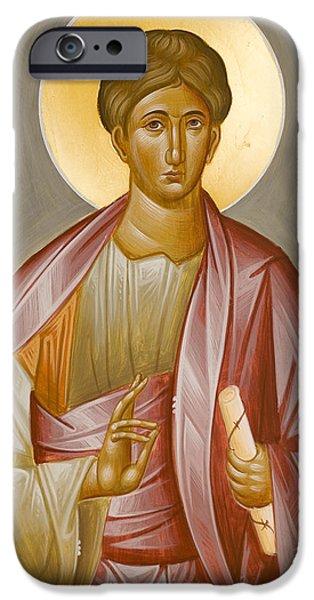 Apostle Philip iPhone Case by Julia Bridget Hayes