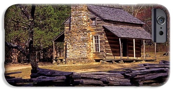 Mountain Cabin iPhone Cases - Appalachian Homestead iPhone Case by Paul W Faust -  Impressions of Light