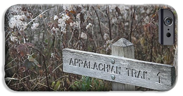 High Park Fire iPhone Cases - Appalachian Trail iPhone Case by Dan Sproul