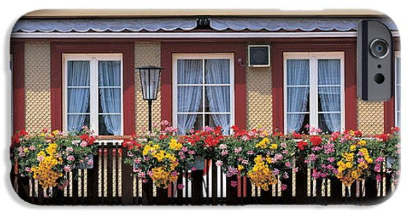 Balcony iPhone Cases - Appenzell Switzerland iPhone Case by Panoramic Images