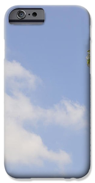 Apple blossom in spring blue sky iPhone Case by Matthias Hauser