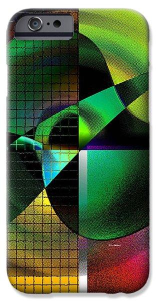 Apple Blur iPhone Case by Iris Gelbart