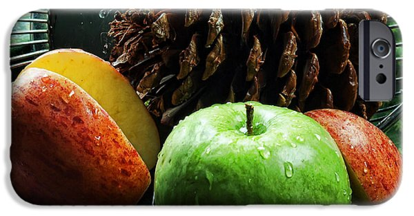 Apple Delight iPhone Case by Camille Lopez
