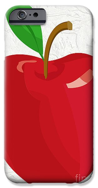 Multimedia iPhone Cases - Apple Of My Eye iPhone Case by Tina M Wenger