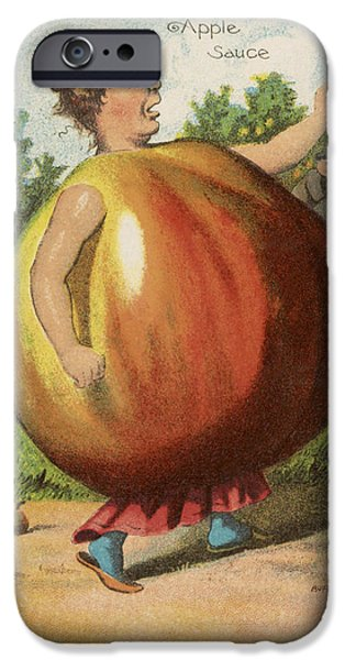 Apple Sauce iPhone Case by Aged Pixel