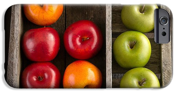 Crate iPhone Cases - Apples iPhone Case by Edward Fielding
