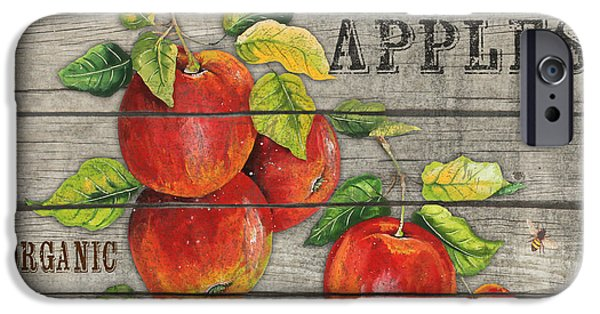 Locally Grown iPhone Cases - Apples-JP2674 iPhone Case by Jean Plout