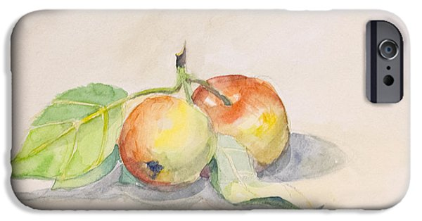 Sheets Drawings iPhone Cases - Apples iPhone Case by Olesya Tarasova