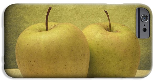 Reflection Harvest iPhone Cases - Apples iPhone Case by Taylan Soyturk