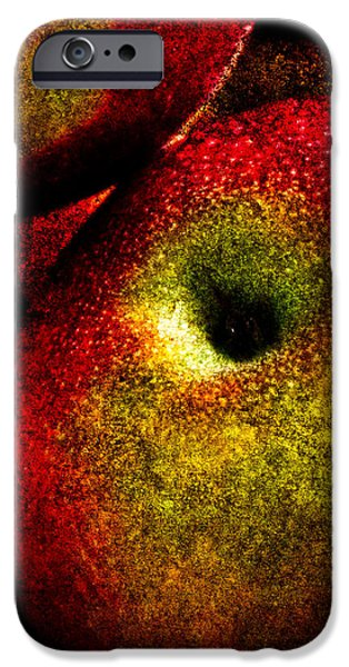 Apple iPhone Cases - Apples Two iPhone Case by Bob Orsillo