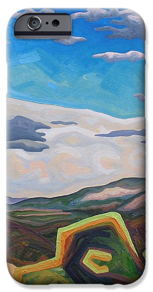 Approaching electrical storm iPhone Case by Dale Beckman