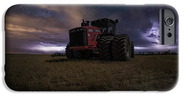 Combine iPhone Cases - Approaching Storm iPhone Case by Aaron J Groen