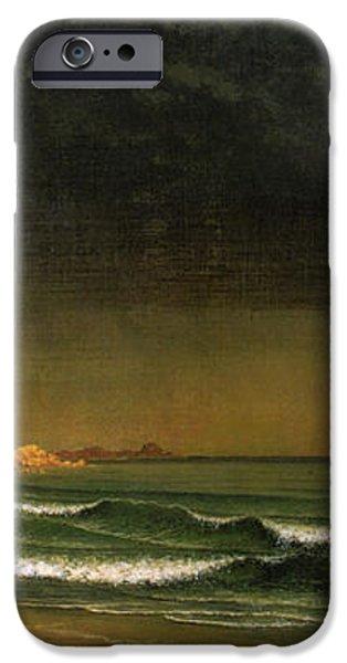 Approaching Storm Near Newport Beach iPhone Case by Martin Heade