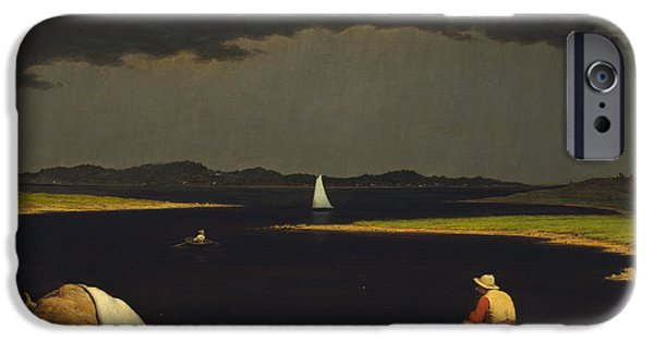 Approaching Storm iPhone Cases - Approaching Thunderstorm iPhone Case by Martin Heade
