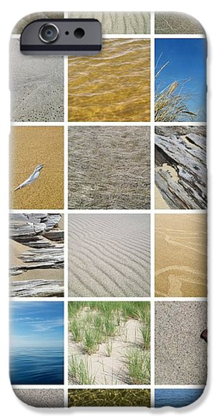 April Beach iPhone Case by Michelle Calkins