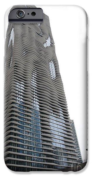 Aqua Condominiums Photographs iPhone Cases - Aqua - 4 iPhone Case by David Bearden