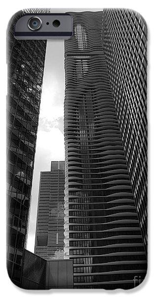 Aqua Condominiums Photographs iPhone Cases - Aqua-Swissotel-et al iPhone Case by David Bearden