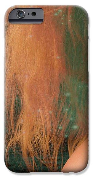 Aquarius... iPhone Case by Nina Stavlund