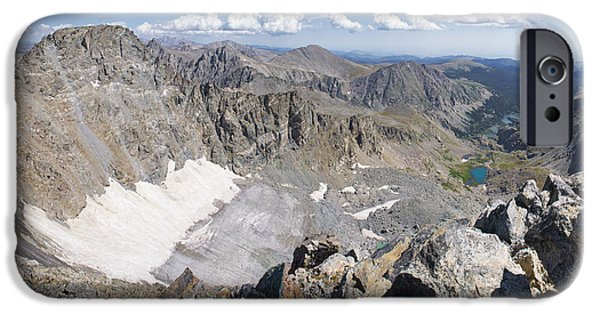 Nederland iPhone Cases - Arapaho Glacier iPhone Case by Aaron Spong