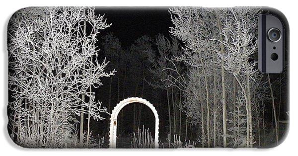 Brian Boyle iPhone Cases - Arc de la nuit iPhone Case by Brian Boyle